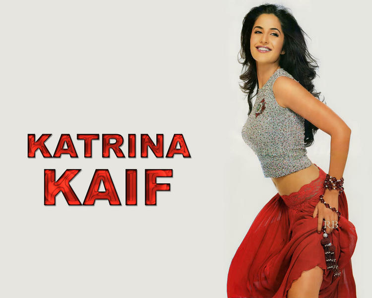 Katrina Kaif Cute Sexy Pose Wallpaper