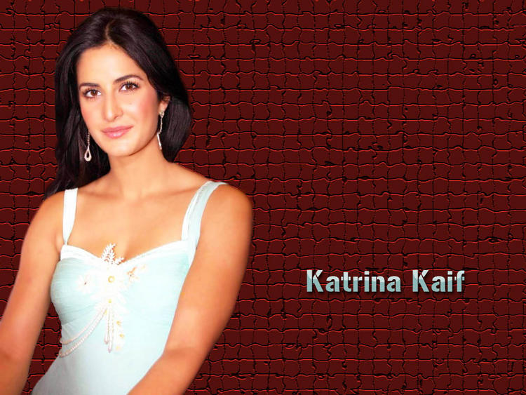 Katrina Kaif Shiny Look Wallpaper