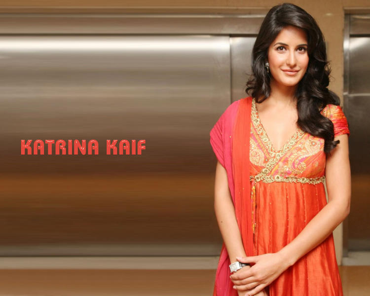 Katrina Kaif Simple Look In Simple Dress