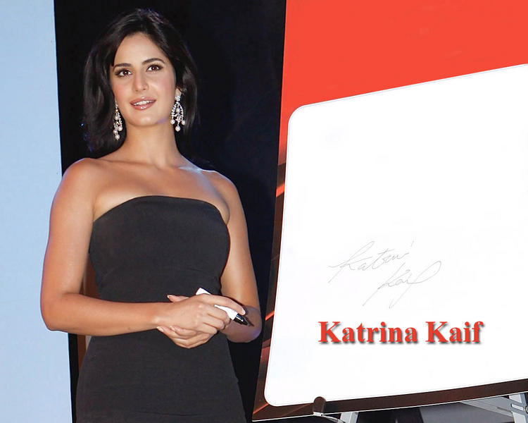 Katrina Kaif Strapless Dress Hot Wallpaper