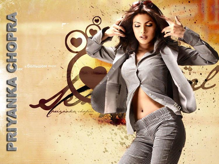 Hot Priyanka Chopra Bold Wallpaper