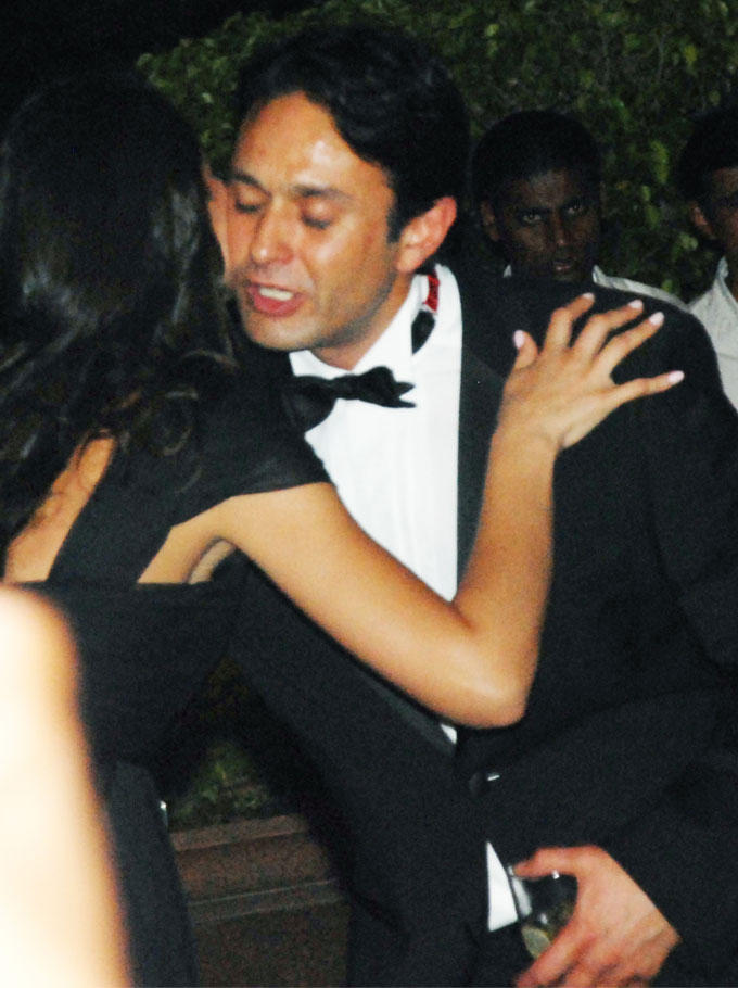 At Karan Birthday Bash Nargis Was Caught On With Ness