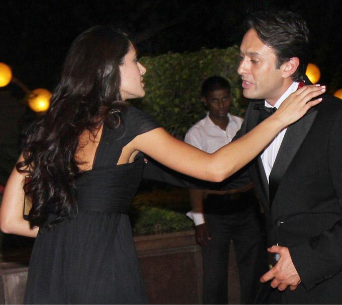Nargis And Preity Zinta Ex Boyfriend Ness Share A Cozy Moment