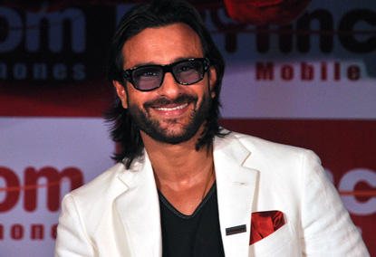 Saif Ali Khan Long Hair Style Hot Pic