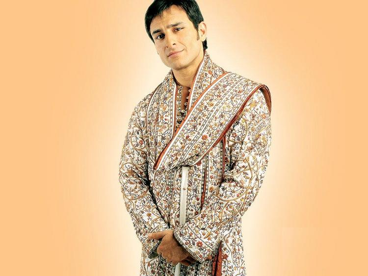 Saif Ali Khan In Sherwani Nice Photo