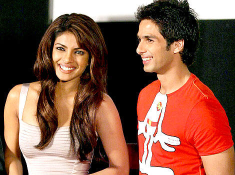 Shahid And Priyanka Chopra Promote Kaminey