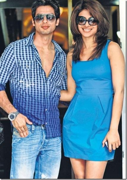 Shahid And Priyanka Chopra Wear Goggles Stylist Pic
