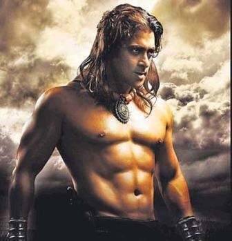 Salman Khan Eight Pack Body Show In Veer