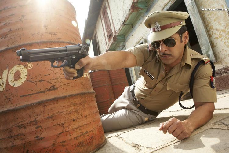 Salman Khan As Police In Dabangg