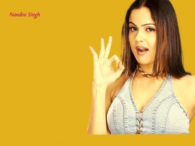 Nandini Singh Cool And Fresh Wallpaper