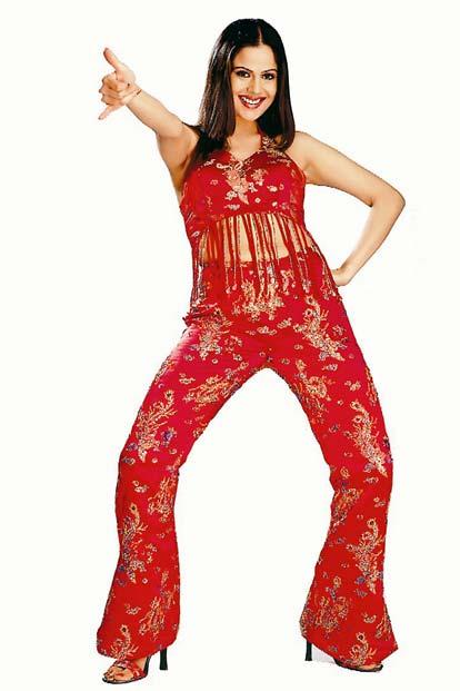 Nandini Singh Red Dress Hot Wallpaper