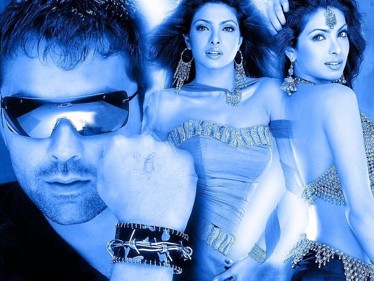 Priyanka With Bobby Deol Nice Wallpaper
