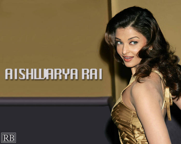 Sexy Actress Aishwarya Rai Wallpaper