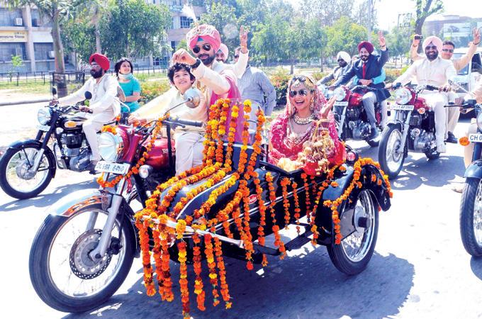 Gul Panag Marriage Photo