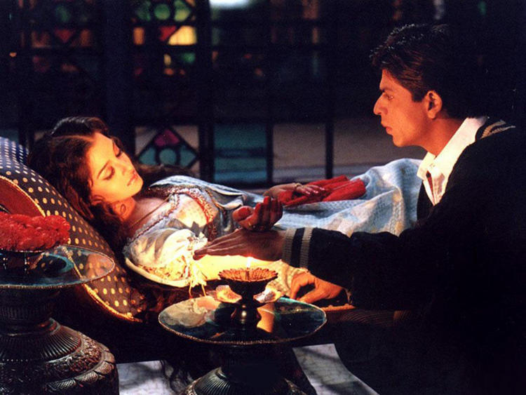Aishwarya Rai With Shahrukh In Devdas
