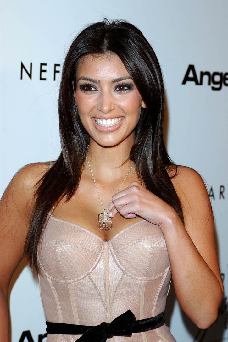 Glamour Beauty Kim Kardashian Images