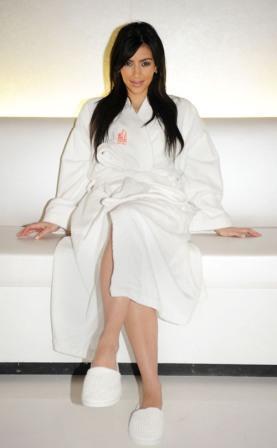 Kim Kardashian Poses To Photo Shoot