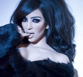 Kim Kardashian Spicy Face Look Still