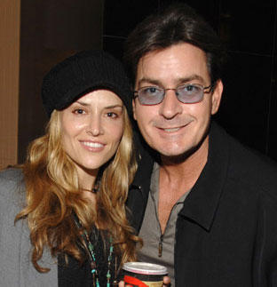 Charlie Sheens and Brooke Mueller  Latest Still