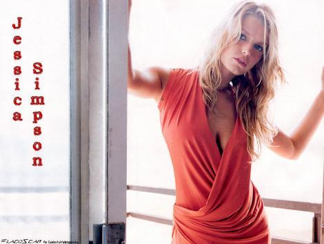 Jessica Simpson Deep Cleavages Hot Picture