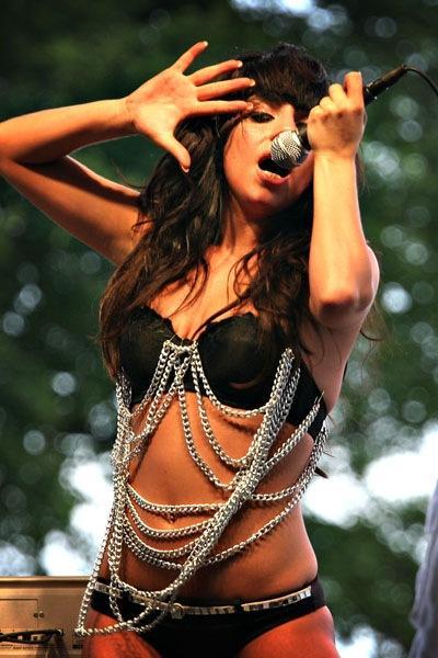 Lady Gaga Sexy Dress Performance Still