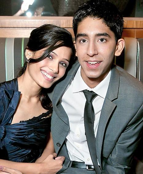 Dev Patel and Freida Pinto Swetest Photo