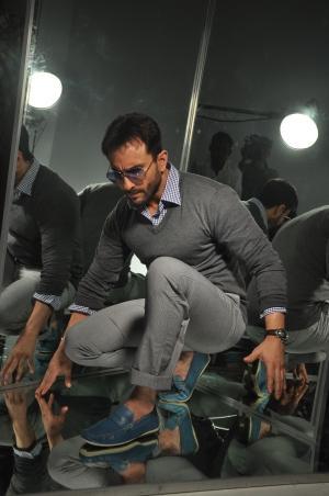 Saif Ali Khan At Gym