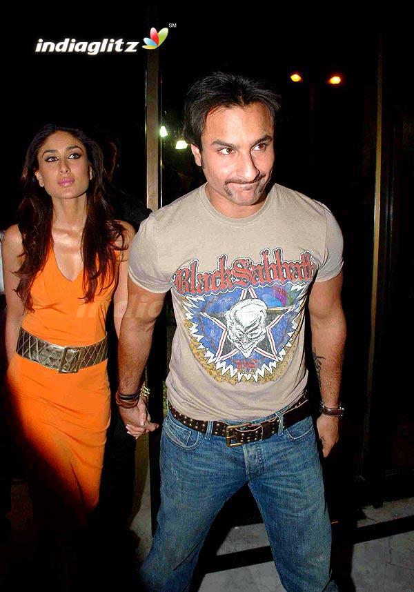 Saif With Kareena At Manish Malhotra Runway Show