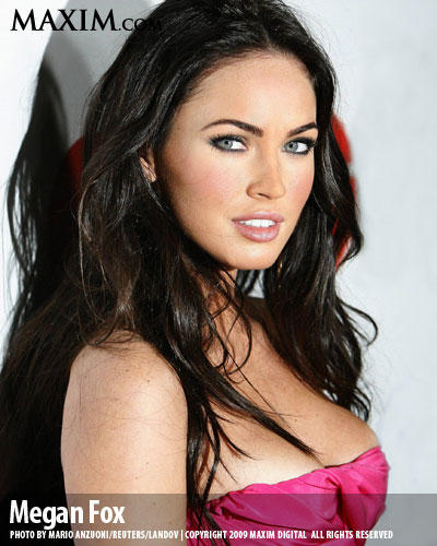 Megan Fox Maxin Hot Photo Shoot
