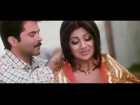 Anil Kapoor and Shilpa Film Acting Still