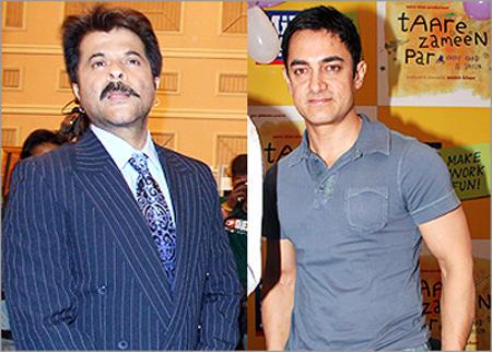 Anil Kapoor Blue Blazer Still