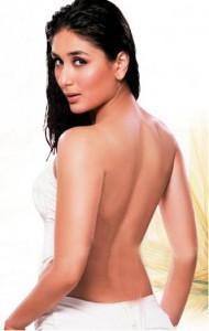 Kareena Kapoor Milky Back Bare Still
