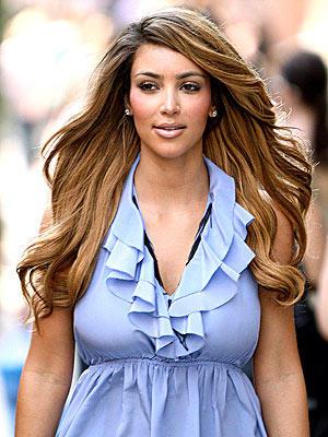 Kim Kardashian Beautiful Stunning Pic