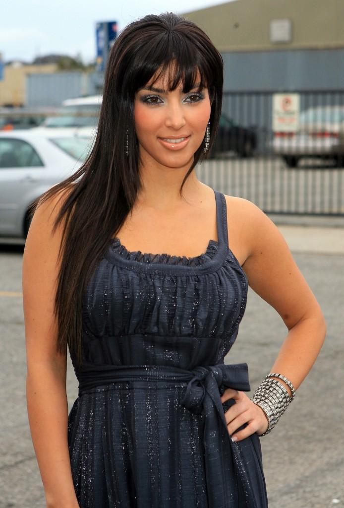 Kim Kardashian Beautiful Stylist Pic