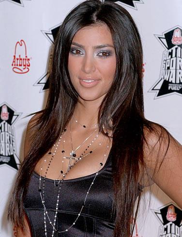 Kim Kardashian Glamour Look Picture