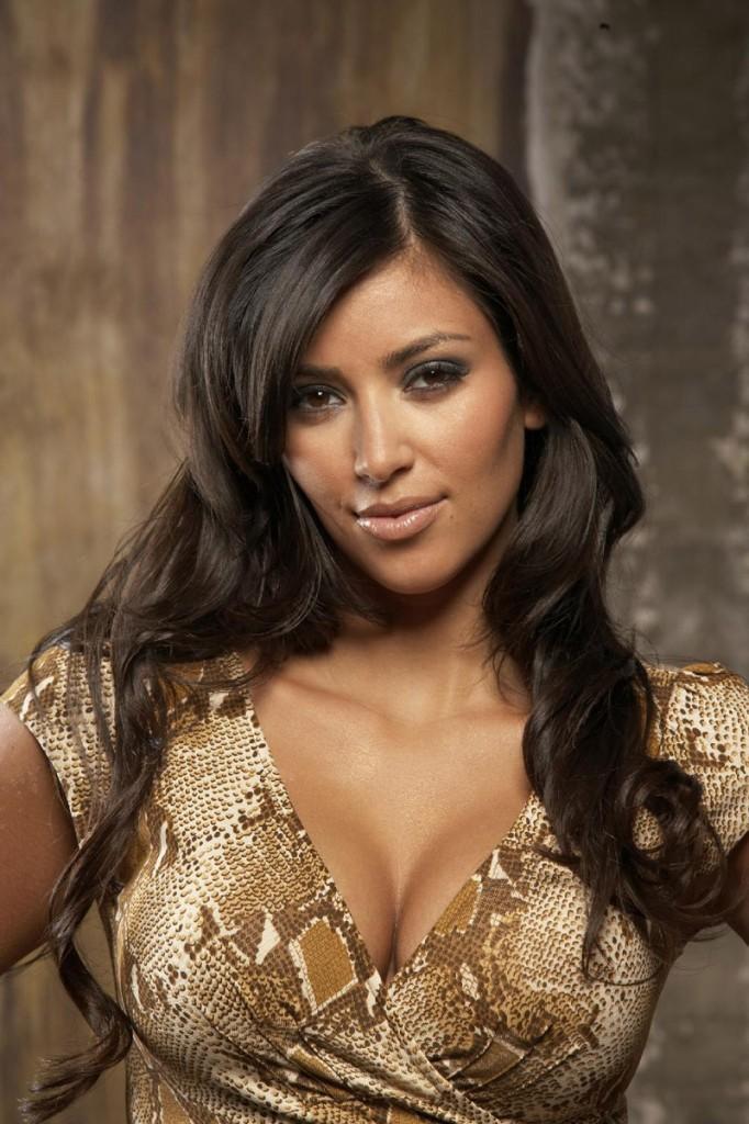 Kim Kardashian Spicy Look Still