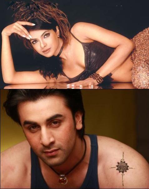 Ranbir And Priyanka Chopra Hot Photo