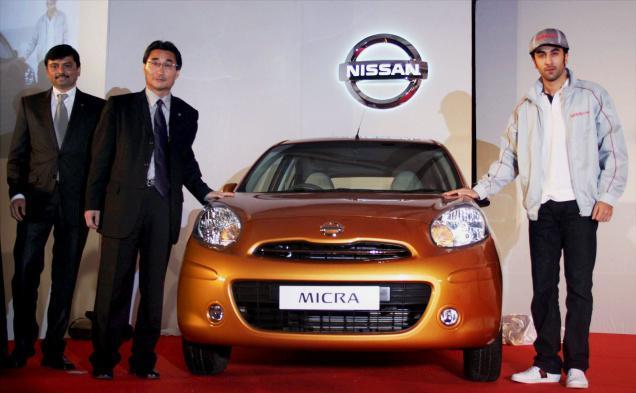 Ranbir Became Brand Ambassdor In Nissan Motor India