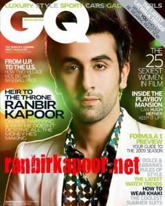 Ranbir Kapoor On GQ Magazine