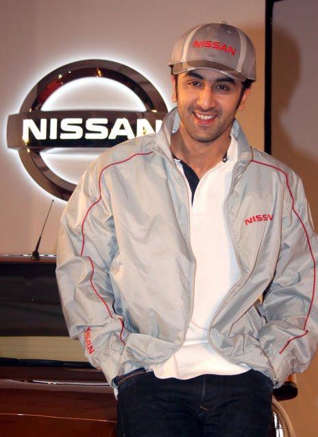 Ranbir Kapoor At Nissan Motor India