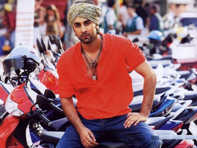 Ranbir Kapoor Red Shirt Hot Photo