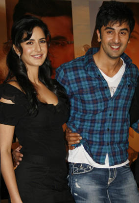 Ranbir With Katrina Kaif Cute Pic