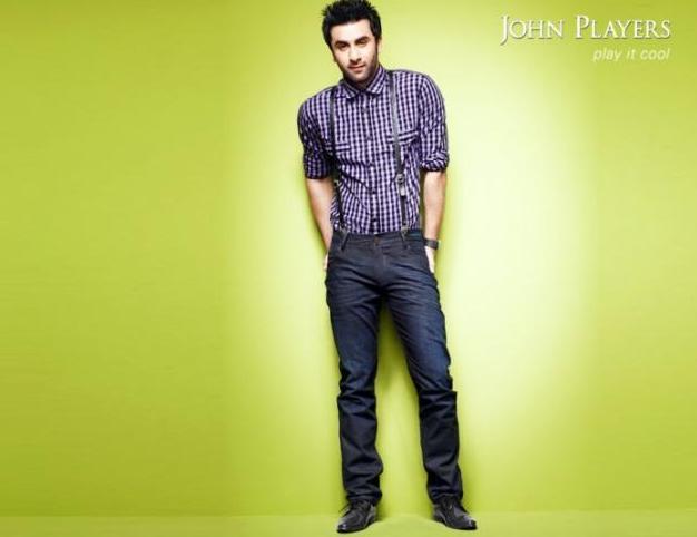 Ranbir Looking Stylish In John Players