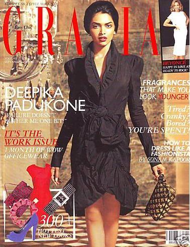 Deepika Padukone Grazia Magazine Beauty Still