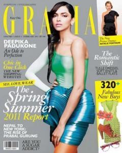 Deepika Padukone Stylist Dress Grazia Magazine Still