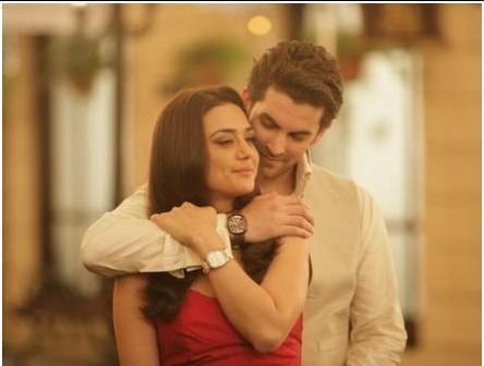 Preity And Neil Nitin Mukesh Watch Ad Photoshoot
