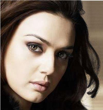 Preity Zinta Glorious Face Look Attractive Photo