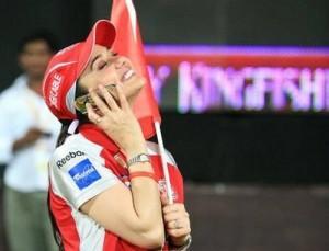 Preity Zinta Seet Smiling Pic