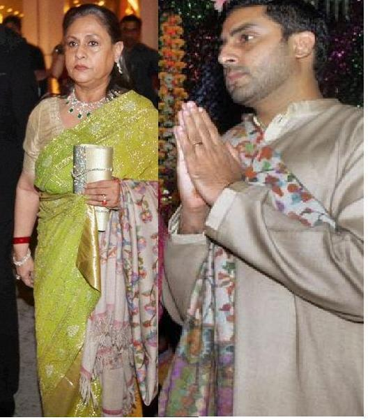Abhishek Bachchan and Jaya Photo