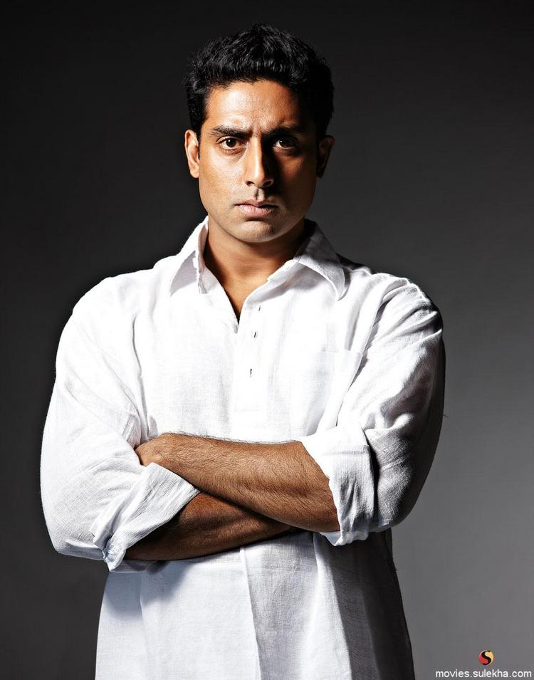 Abhishek Bachchan Hot Look In White Shirt